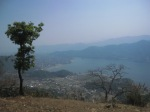 Pokhara from above